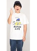 RAMEN LIFE Tシャツ(青・サイズS)