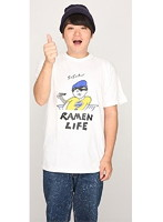 RAMEN LIFE Tシャツ(青・サイズL)