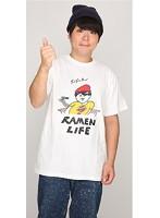 RAMEN LIFE Tシャツ(赤・サイズS)
