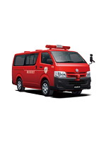 1/24 トヨタ TRH200V ハイエース 消防査察広報車 '10