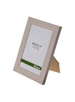 エツミ フォトフレーム 10枚セット Weal-ウィール- 「幸せ」 ポストカードサイズ(4×6in) PS グレー VE-5568-10