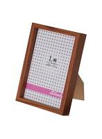 エツミ フォトフレーム 10枚セット Shelf-シェルフ- 「棚」 L判用(3.5×5in) PS ブラウン VE-5586-10