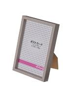 エツミ フォトフレーム 10枚セット Shelf-シェルフ- 「棚」 ポストカードサイズ(4×6in) PS グレー VE-5590-10