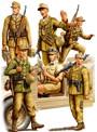 1/35 ドイツ アフリカ軍団兵士セット ファイティングヴィークルシリーズ