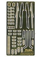 日本海軍航空戦艦 伊勢用 木甲板シール(w/艦名プレート) 1/700 特シリーズ No.39 EX-102