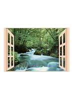 昭プラ お風呂のポスター 四季彩 奥入瀬の渓流 8095652