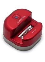 MEDIK 充電式シェーバー除菌スタンド レッド MDK-RS01RD