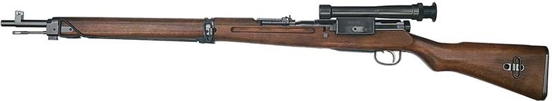九九式狙撃銃 グレースチールフィニッシュ モデルガン