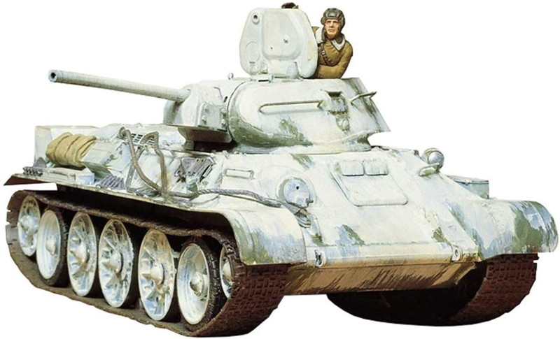 1/35 T34/76戦車 1942年型