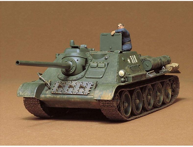 1/35 ソビエト SU-85 襲撃砲戦車