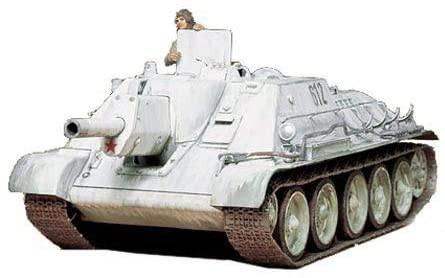 1/35 ソビエト SU-122 襲撃砲戦車