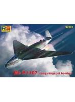 1/72 ドイツ空軍 メッサーシュミット Me P.1107 長距離ジェット爆撃機 KG54 1946
