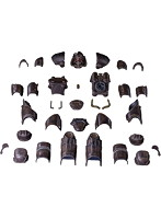 Fallout 1/6 T-51 Blackbird Armor Pack (1/6 T-51 ブラックバード・アーマー・パック)