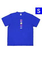 海物語 オリジナルTシャツ 魚群Ver.(Sサイズ)