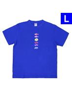海物語 オリジナルTシャツ 魚群Ver.(Lサイズ)
