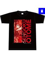 戦国乙女ぱちモ!オリジナルTシャツ-織田ノブナガ(Mサイズ)