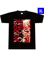 戦国乙女ぱちモ!オリジナルTシャツ-前田トシイエ(XLサイズ)