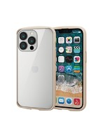 iPhone 6.1inch 3眼/ハイブリッドケース/TOUGH SLIM LITE/フレームカラー/背面ガラス/アイボリー