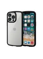iPhone 6.1inch 3眼/ハイブリッドケース/TOUGH SLIM LITE/フレームカラー/シルキークリア/ブラック