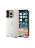 iPhone 6.1inch 3眼/ソフトケース/極み/サイドメッキ/ゴールド