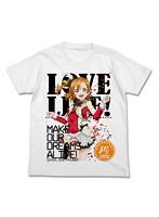 ラブライブ! 高坂穂乃果フルカラーTシャツ/WHITE-XL