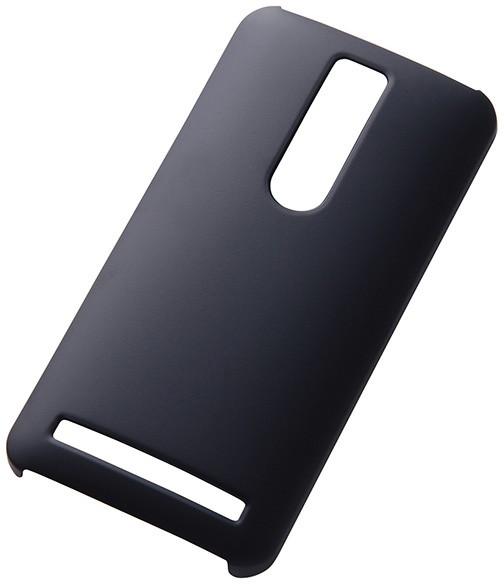 ZenFone2対応 高耐久マットハードケース ブラック