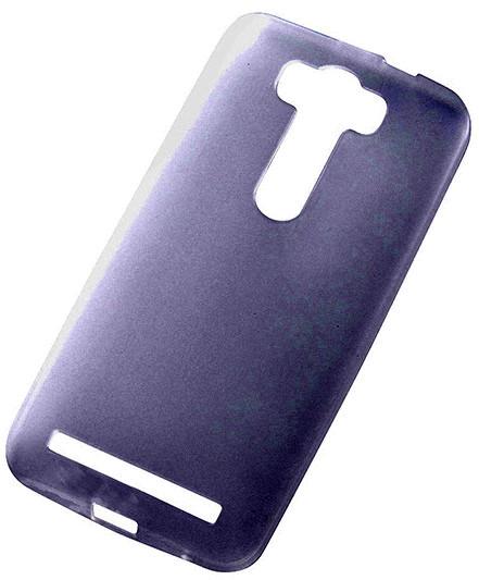 ZenFone2 Laser対応 極薄0.8mm クリアソフトケース