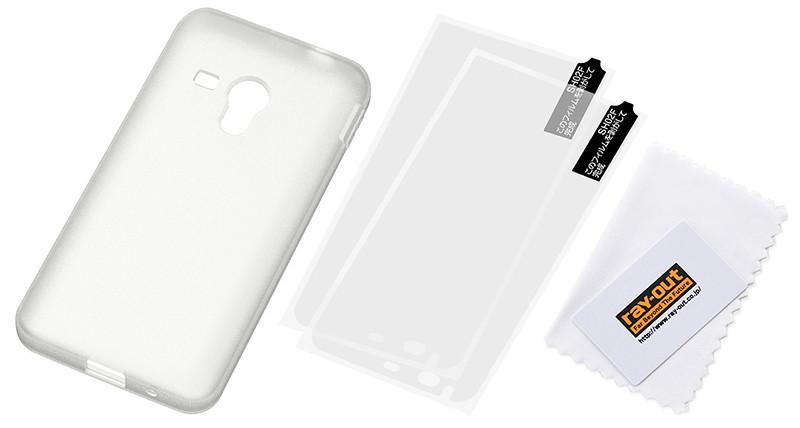 SHARP SH-M01対応 シルキータッチ・シリコンジャケット ホワイト