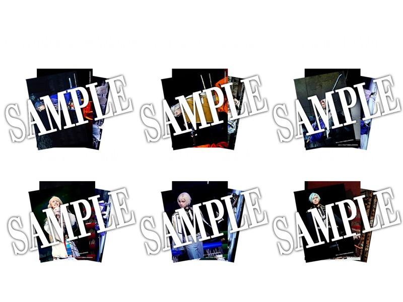 つはものどもがゆめのあと 舞台写真ブロマイド 刀剣男士(1部衣裳)6種セット