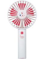 グリーンハウス サンリオキャラクターズ 手持ち扇風機 GH-FANHHA-KT(3段階調節可/USB充電式/ハローキティ)