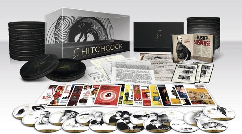 ヒッチコック アルティメイト フィルムメーカー コレクション ブルーレイBOX (ブルーレイディスク)