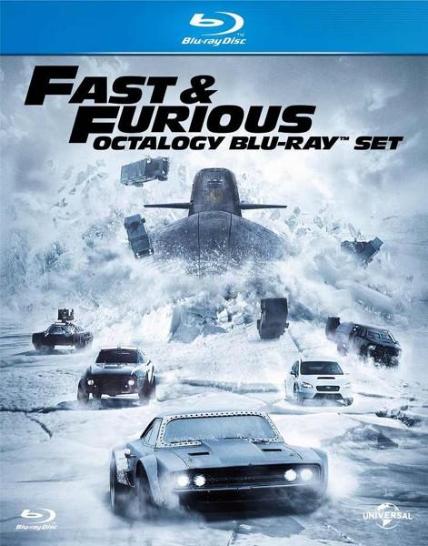 ワイルド・スピード オクタロジー Blu-ray SET (初回生産限定 ブルーレイディスク)