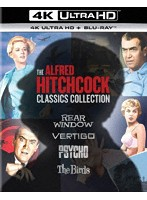 アルフレッド・ヒッチコック クラシックス・コレクション (4K ULTRA HD+ブルーレイディスク)