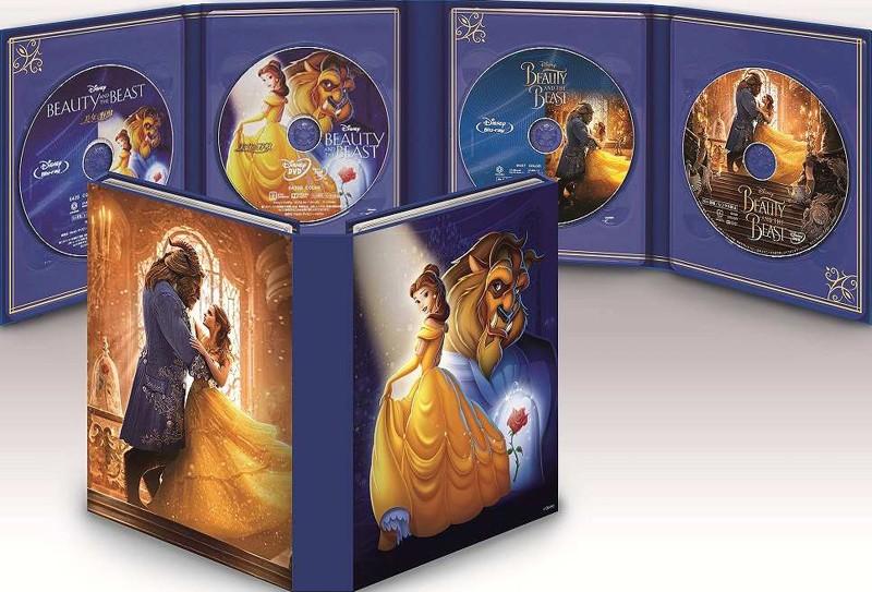 美女と野獣 MovieNEX コレクション(期間限定 ブルーレイ+DVD+デジタルコピー(クラウド対応)+MovieNEXワールド)
