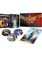 キャプテン・マーベル (数量限定 4K UHD MovieNEXプレミアムBOX 4K ULTRA HD+ブルーレイ+デジタルコピー(クラウド対応)+MovieNEXワールド)