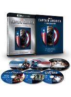 キャプテン・アメリカ:4K UHD 3ムービー・コレクション (数量限定 4K ULTRA HD+ブルーレイディスク)