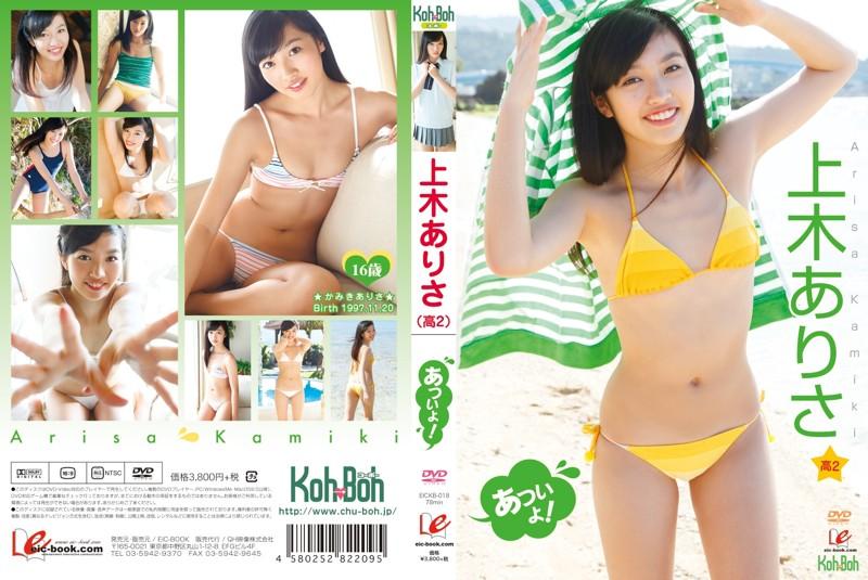 [EICKB-018] Arisa Kamiki 上木ありさ あついよ!