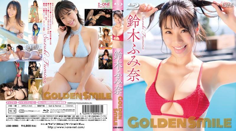 【数量限定】Golden Smile/鈴木ふみ奈 (ブルーレイディスク) チェキ付き
