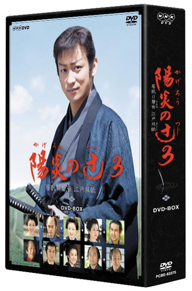 陽炎の辻3 〜居眠り磐音 江戸双紙〜 DVD-BOX