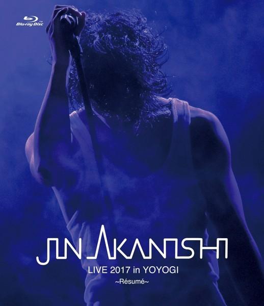 JIN AKANISHI LIVE 2017 in YOYOGI〜Resume〜/赤西仁 (ブルーレイディスク)
