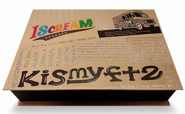 CONCERT TOUR 2016 I SCREAM/Kis-My-Ft2 (ブルーレイディスク)