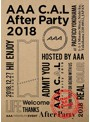 AAA C.A.L After Party 2018/AAA (ブルーレイディスク)