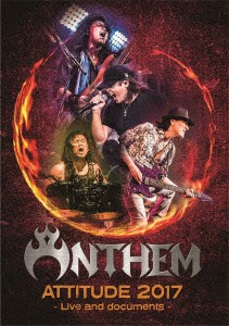 ATTITUDE 2017-Live and documents-/ANTHEM(初回生産限定盤 ブルーレイディスク)
