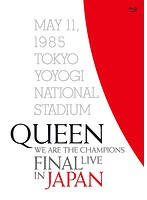 WE ARE THE CHAMPIONS FINAL LIVE IN JAPAN/クイーン (初回生産限定盤 ブルーレイディスク)