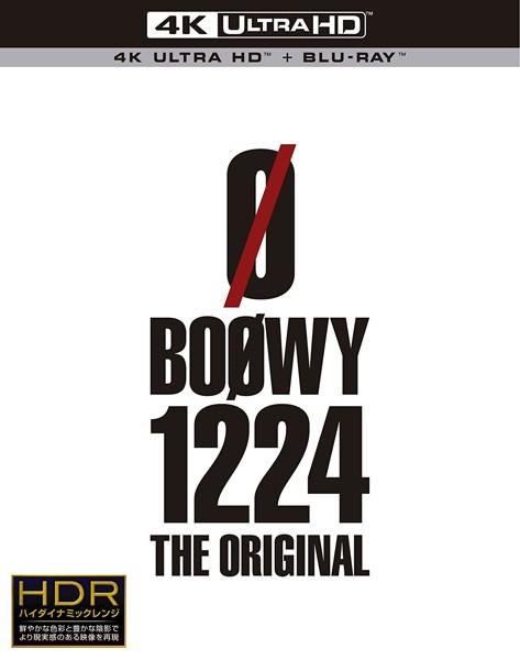 1224-THE ORIGINAL-/BOOWY (4K ULTRA HD+ブルーレイディスク)