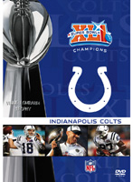 NFL スーパーボウルXLI:インディアナポリス・コルツ