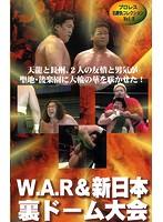 プロレス名勝負コレクション vol.8 W.A.R&新日本 裏ドーム大会