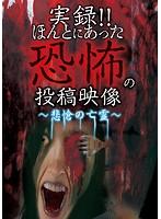 実録!!ほんとにあった恐怖の投稿映像~悲愴の亡霊~