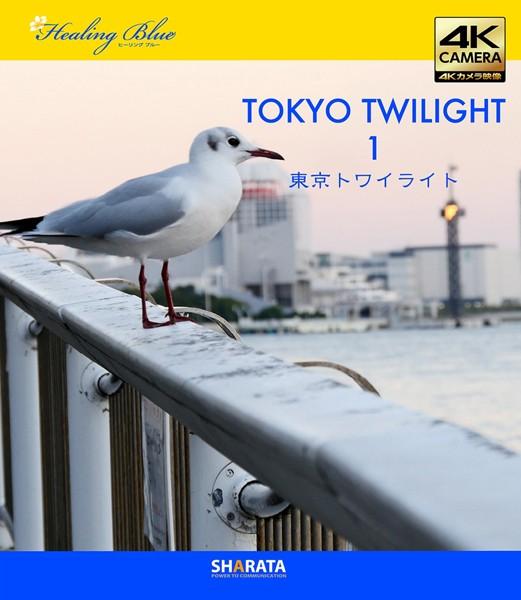 4Kカメラ映像【Healing Blueヒーリングブルー】東京トワイライト 1〈動画約50分〉ポストカード10種付属 (ブルーレイディスク)