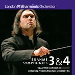 ユロフスキ&ロンドン・フィル/ブラームス:交響曲第3番&第4番(ハイブリッドCD)(アルバム)
